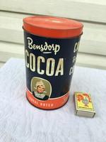 Holland pléh kakaós doboz - Cocoa Bensdorf