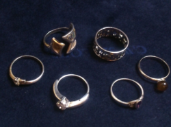 Ezüst gyűrűk vegyesen!