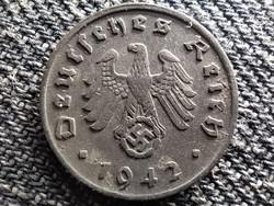Németország Horogkeresztes 1 birodalmi pfennig 1942 D (id41892)