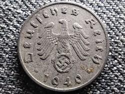 Németország Horogkeresztes 5 birodalmi pfennig 1940 F (id41864)