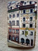 Régi képeslap: Luzern