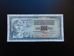 1000 dinár 1981 Jugoszlávia 01