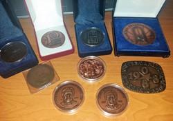 Bronz Emlék érmék