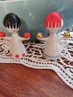 Hollóházi porcelán angyalkák
