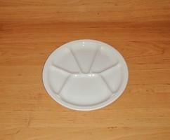 Osztott mázas kerámia tányér 21,5 cm (2p)