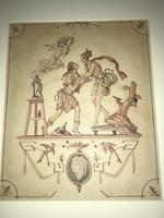Alfred Hagel :Galathea eredeti szignált !!!