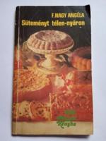 Süteményes szakácskönyv  !!