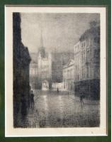 Thomas Robert Way (1861-1913): Exterior, 1899 - eredeti litográfia