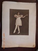 Antik (balerina) műtermi fotó fénykép