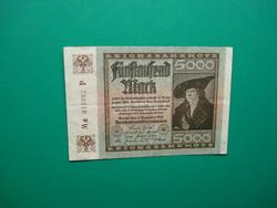 Németország 5000 márka 1922