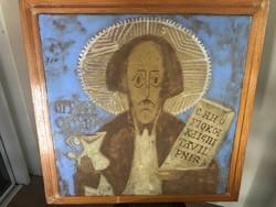 Pál Ferenc kerámia falikép