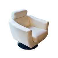 Forgó marhabőr fotel