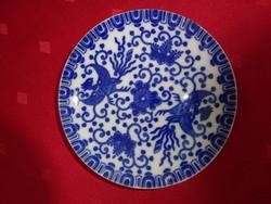 Japán porcelán kávéscsésze alátét, átmérője 11,3 cm.