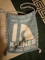 Ritka retro K-lines szatyor