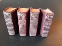 Miniatűr szótár sorozat - 4 db