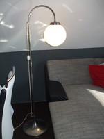 Krómozott állólámpa lámpa