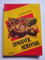 Spanyol konyha  szakácskönyv  !!