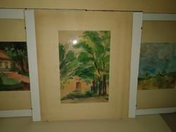Rozgonyi László ( 1894-1948)  3 db festménye, 1 forintról, garanciával!!!