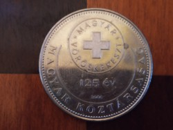 125 éves a Magyar Vörökereszt 50 forint emlék érme 2006 2.