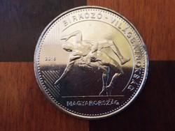 Birkózó vb 50 forint emlék érme 2018 2.