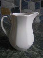 Lubiana tejkiöntő tejszínes lengyel porcelán 10*9 cm