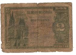 2 peseta 1938.04.30. Spanyolország