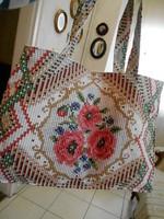 Textil szatyor 43x28 cm