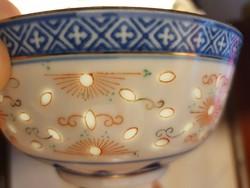 6 db kínai rizsszemes tálka + ajándék kanál