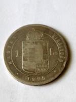 F. J. 1forint.1875.KB.