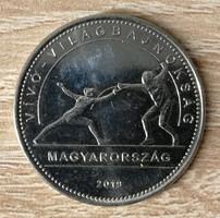 50 Forint 2019 -  Vívó Világbajnokság