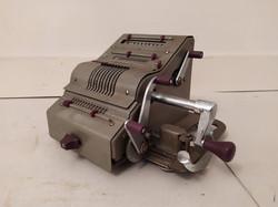 Antik számoló pénztár gép kassza cassa gyűjteménybe való számológép pénztárgép