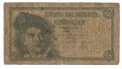 5 peseta 1948 Spanyolország 1.