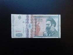 500 lei 1992 Románia 02