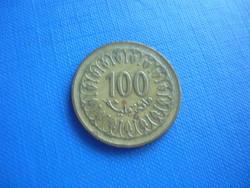 TUNÉZIA 100 MILLIM 1983