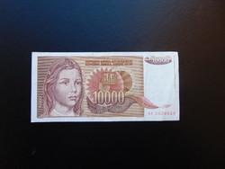10000 dinár 1992 Jugoszlávia 02