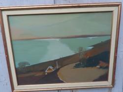 Nagy Ernő Sándor képcsarnokos festménye