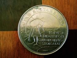 15 éves a Gyermekmentő Szolgálat 50 forint emlék érme 2005