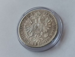 1879 ezüst 1 florin,gyönyörű darab, kapszulában,így nagyon ritka!!!