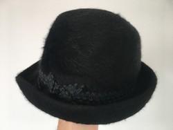Vintage női szőrme kalap régi viselet
