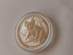 2018 Ausztrál koala ezüst 31,1 gramm 0,999