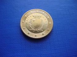 MÁLTA 50 EURO CENT 2016! RITKA!