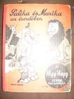 Tamás István Palika és Marika az őserdőben antik mesekönyv Pályi Jenő rajzaival