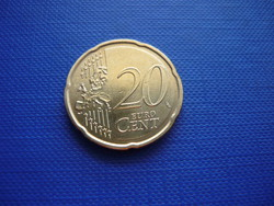 MÁLTA 20 EURO CENT 2016! RITKA!