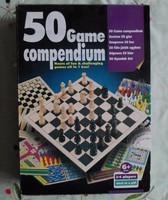 50 játék – régebbi társasjáték ötven játéklehetőséggel