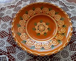 Czúgh János: kerámia fali tányér