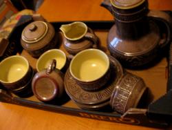 Art deco ,retro angol kerámia teás készlet