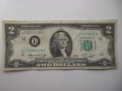 USA 2 dollár 1976
