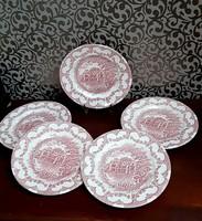 4208- Angol Irostone tányér