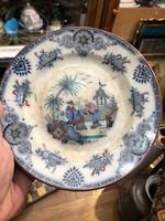 Régi Villeroy Bosch porcelán tányér, ritkaság, 20 cm átmérőjű.