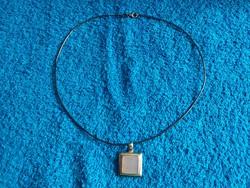 1,-Ft Merev ezüst lánc ezüst medállal